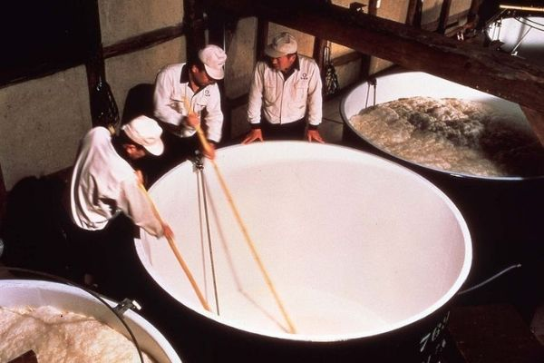 sake brewing process
