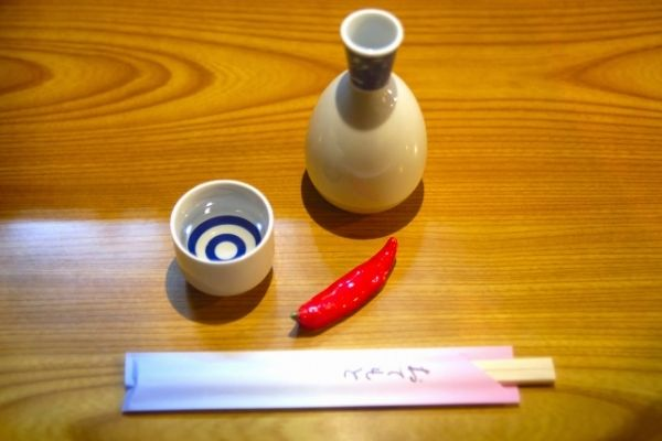 how to warm sake without tokkuri
