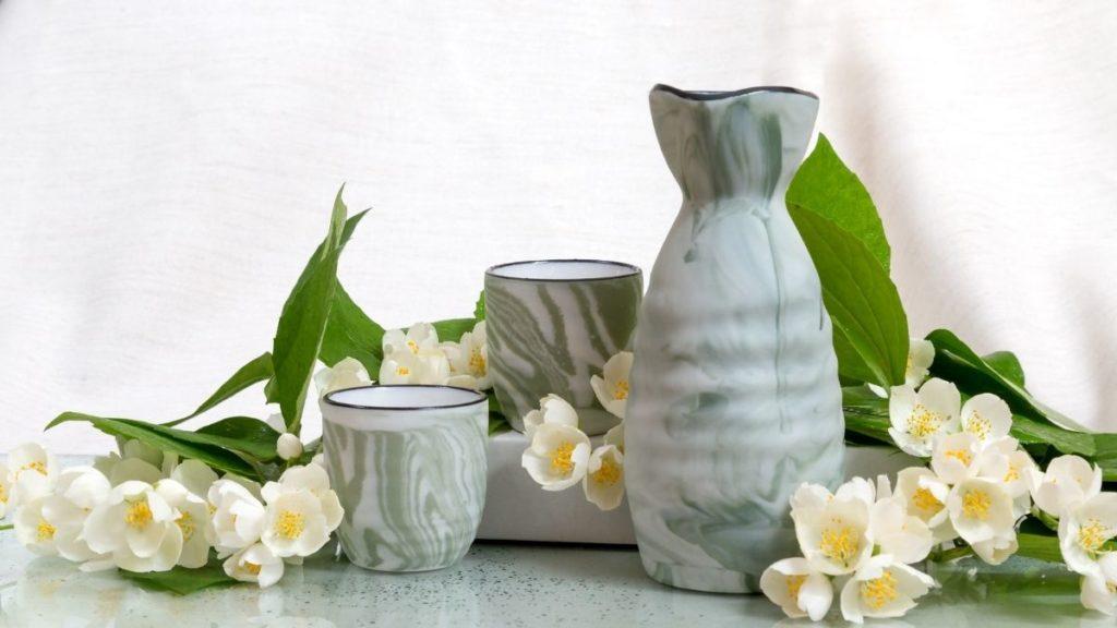 how to warm sake without tokkuri