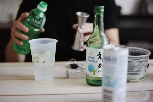 difference between soju and sake