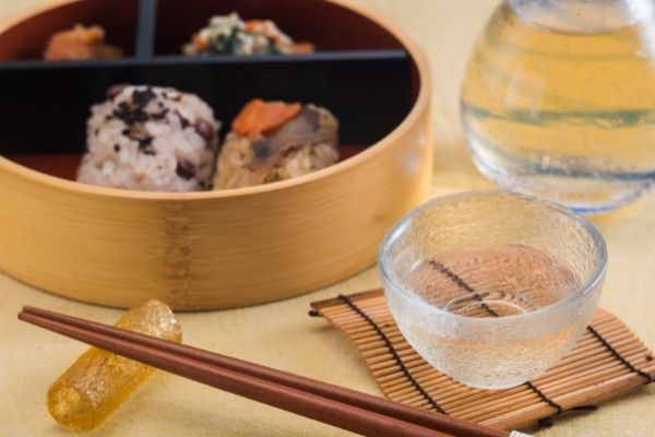 meal with sake